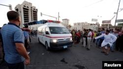 Машина скорой помощи в Ираке. Архивное фото