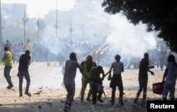 Столкновения вблизи площади Тахрир в Каире
