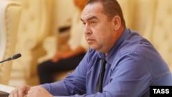 Игорь Плотницкий, главарь группировки «ЛНР», которая признана в Украине террористической. Белоруссия, Минск, 5 сентября 2014 года