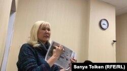 Активистка Санавар Закирова.