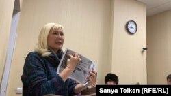 Гражданская активистка Санавар Закирова.