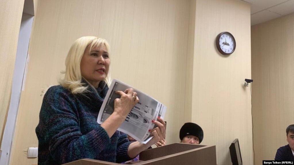 Санавар Закирова в суде. Архивное фото.