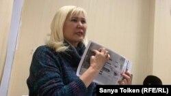 Активистка Санавар Закирова в суде. Нур-Султан, 12 декабря 2019 года.