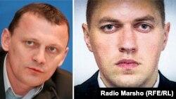 Микола Карпюк (л), Станіслав Клих (п)