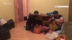 Помощь из Крыма: активисты привезли передачи для арестованных во время массовых обысков в Ростовское СИЗО (видео)
