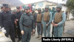 Afghanistan -- Kunar police are given new weapons, 29 Jan 2017