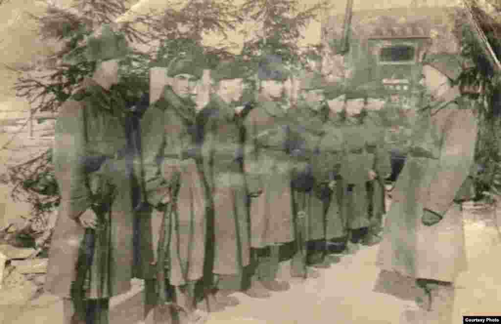 Маткерим Рахманбердиев 7-дивизияда кызмат өтөп, Берлинге чейин жеткен.