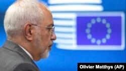 Iranski ministar spoljnih poslova Džavad Zarif u Briselu 15. maja