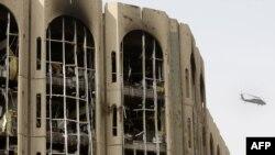 من آثار تفجيرات الأحد