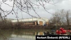 Bivše brodogradilište gde je planirana gradnja 'Novog Sada' na vodi