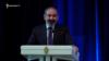 Премьер-министр Армении Ни кол Пашинян выступает на мероприятии по случаю 101-й годовщины полиции, 16 апреля 2019 г.