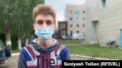 Дмитрий Ушаков, заключенный в колонии-поселении в Нур-Султане.
