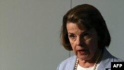 Dianne Feinstein la o audiere în Senatul american în 2013