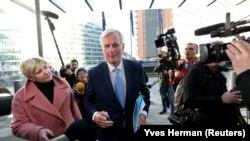 Negociatorul şef al Uniunii Europene, Michel Barnier