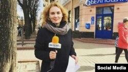 Belsat TV correspondent Katsyaryna Andreyeva