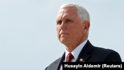 U.S. Vice President Mike Pence paid a surprise visit to Iraq. (file photo)