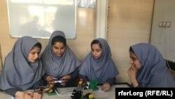 تیم دختران افغان