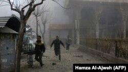 Чыгыш Гута, Сирия