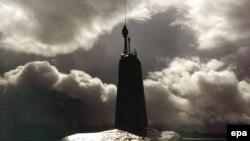 Одна из четырех стратегических атомных подлодок британского флота