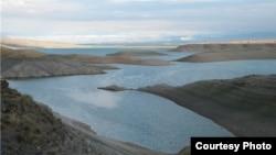 Қырғызстанның Талас облысындағы Киров су қоймасы.