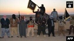 عناصر من مقاتلي داعش
