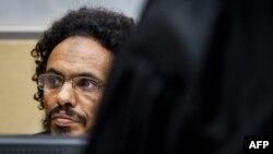 Ахмад аль-Факи аль-Махди в зале суда в Гааге в сентябре 2015 года (архивное фото)