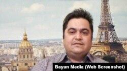 روحالله زم، مدیر سایت آمدنیوز