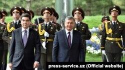 Turkmaniston prezidenti Gurbanguli Berdimuhamedov 23 aprelda O'zbekistonga ikki kunlik davlat tashrifi bilan keldi.