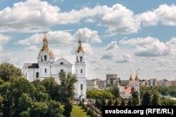 Усьпенскі сабор і Ўваскрасенская царква ў Віцебску
