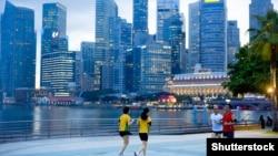 За оцінками Human Capital Index, найкращі перспективи в дітей, народжених у Сінгапурі (на фото: сінгапурський парк Мерлайон)