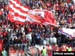 Navijači fudbalskog kluba Crvena zvezda