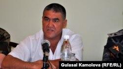 Заместитель министра внутренних дел КР Курсан Асанов, Ош, 9 июня 2011 года.