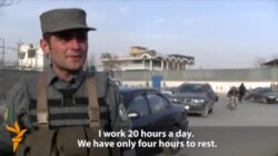 A Tough Job, And Little Trust, For Afghan Police