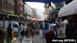 ارشیف، د کابل ښار منډوي سیمه کې یو شمېر افغانان