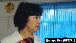 Заведующая педиатрическим отделением городской многопрофильной больницы Шымкента Роза Нурмаханова. Шымкент, 14 мая 2018 года.