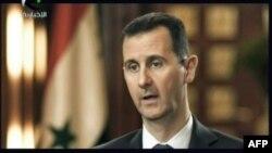 """Башар Ассад исёнчиларни """"террорчи"""" деб атаб, улар билан мулоқот қилмаслигини баён қилди."""
