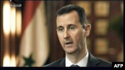 "Фрагмент интервью президента Сирии Башара Асада телеканалу ""Иль-Икбария"", 17 апреля 2013 года."