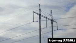 Линии электропередачи в Крыму
