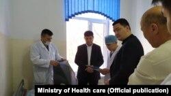 Тоқмақтағы аурухана. Қырғызстан, Шу облысы 9 ақпан 2020 жыл.