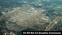 نمای هوایی از هارتسفیلد-جکسون آتلانتا