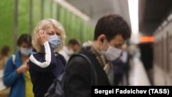People in Moscow are required to wear a mask in shops and public transport, and employees of large companies are advised to work remotely.