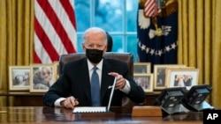 Președintele SUA, Joe Biden, 25 ianuarie, 2021