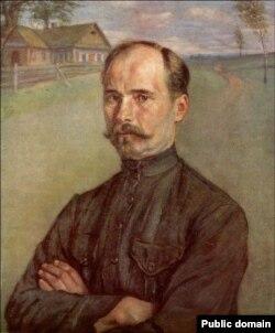 Янкель Кругер. Партрэт Якуба Коласа. 1923 год