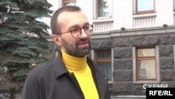Журналісти зафіксували, як на Банкову приходив і Сергій Лещенко