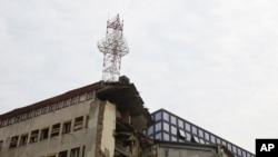 RTS nakon NATO napada, foto: Vesna Anđić