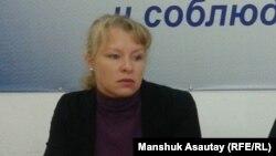 Олеся Халабузарь, руководитель общественной организации «Общество молодых профессионалов Казахстана».