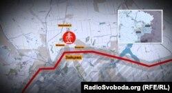 Адміністративний центр Зайцеве, до якого належать селища Жованка, Бахмутка, Піски