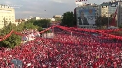 Erdogan's Main Rival Holds Mass Rally In Ankara