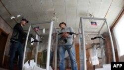 Так называемый «референдум» в Донецке. 11 мая 2014 года