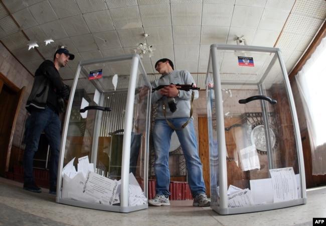 Псевдореферендум у Донецьку, 11 травня 2014 року